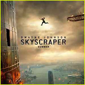 Dwayne Johnson Takes a Leap of Faith on 'Skyscraper' Poster!