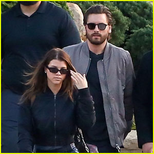 Scott Disick & Sofia Richie Couple Up For Lunch at Their Favorite Hot Spot