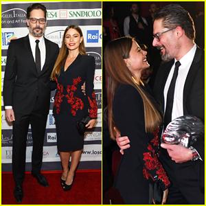 Sofia Vergara Supports Hubby Joe Manganiello at L.A. Italia Film Fest!