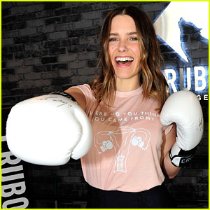 Sophia Bush Celebrates Galentine's Day With Planned Parenthood