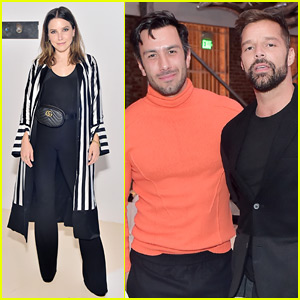 Sophia Bush Joins Newlyweds Ricky Martin & Jwan Yosef at Mr. Chow's Anniversary Party!