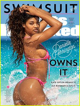 Danielle Herrington Is Sports Illustrated Swim's 2018 Cover Model!