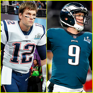 Super Bowl 2018 Photos: See Tom Brady & Nick Foles in Action!