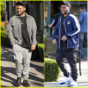 The Weeknd is All Smiles While Stepping Out in Calabasas