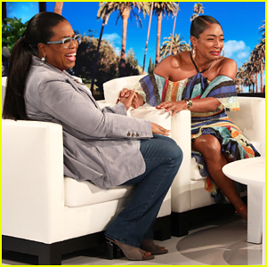 Tiffany Haddish Cries Tears of Joy After Oprah Surprises Her on 'Ellen' - Watch Here!