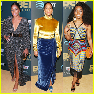 Tiffany Haddish Gets Honored with Rising Star Award at American Black Film Festival Honors 2018!