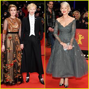 Tilda Swinton, Greta Gerwig & Helen Mirren Glam It Up for Berlin Film Festival Opening Ceremony!