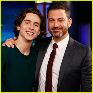 Timothee Chalamet Geeks Out About Meeting Oprah on 'Jimmy Kimmel Live' - Watch Here!
