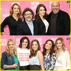 Tina Fey & Hubby Jeff Richmond Celebrate 'Mean Girls' Musical at Broadway Cast Meet & Greet!