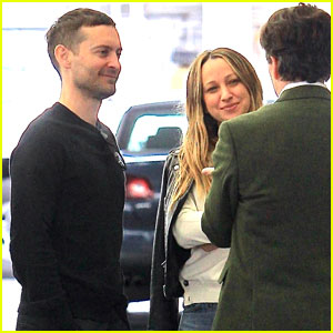 Tobey Maguire Reunites With Ex Jennifer Meyer for Lunch