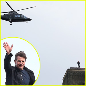 Tom Cruise Has No Fear of Heights for This 'Mission: Impossible' Stunt!