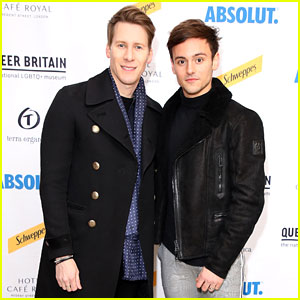 Tom Daley & Dustin Lance Black Couple Up for Launch of UK's First LGBTQ Museum Queer Britain
