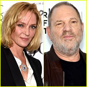 Uma Thurman Details Harvey Weinstein's Alleged Attack on Her