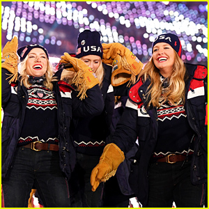 Team USA Walks Out to Psy's 'Gangnam Style' at Winter Olympics 2018 Opening Ceremony!