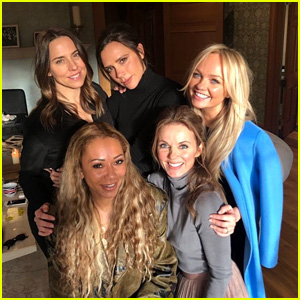 The Spice Girls Reunite at Geri Halliwell's House - See the Pic!