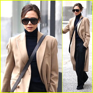 Victoria Beckham Steps Out In the City During NYFW 2018!