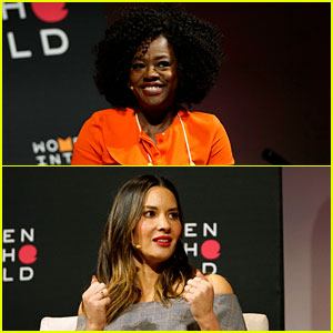 Viola Davis & Olivia Munn Team Up for Women in the World 2018 Event (Video)