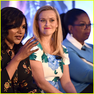 Oprah Winfrey, Reese Witherspoon, Mindy Kaling & More Attend 'A Wrinkle In Time' Press Conference!
