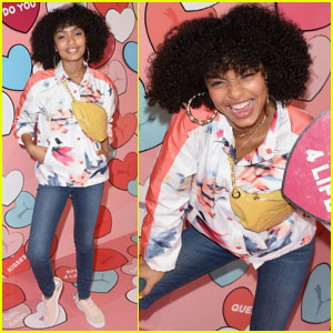 Yara Shahidi Celebrates Valentine's Day With Her Gal Pals!