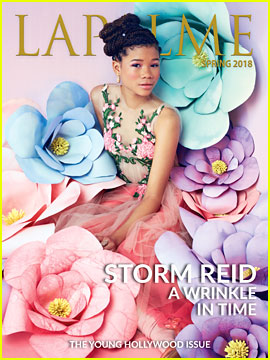 A Wrinkle in Time's Storm Reid Stuns on First Solo Magazine Cover