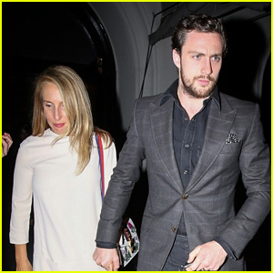 Aaron Taylor Johnson & Wife Sam Have Date Night in Los Angeles!