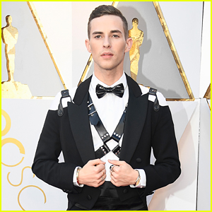 Olympian Adam Rippon Makes His Oscars Red Carpet Debut!