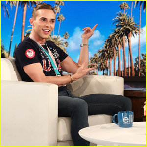 Adam Rippon Says He's Been 'Sleeping On Shawn Mendes' in Hilarious 'Ellen' Interview - Watch Here!