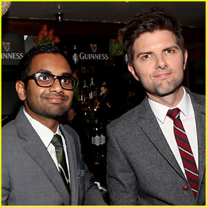 Adam Scott Gives an Update on Aziz Ansari