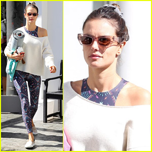 Alessandra Ambrosio Steps Out for Yoga After Reported Split from Jamie Mazur