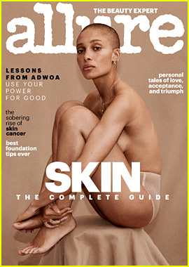 Model Adwoa Aboah Strips Down for Allure's New Issue