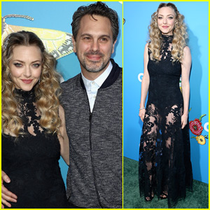 Amanda Seyfried & Husband Thomas Sadoski Couple Up for 'Gringo' Premiere