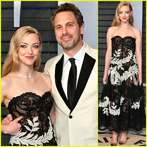 Amanda Seyfried & Husband Thomas Sadoski Couple Up at Oscars After Party!
