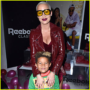 Amber Rose Hits Back After Trolls Make Fun of her 5-Year-Old Son for Liking Taylor Swift