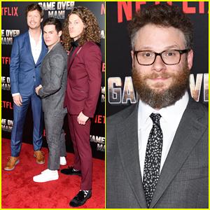 Anders Holm, Adam Devine & Blake Anderson Premiere New Netflix Film 'Game Over, Man' - Watch Trailer!