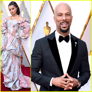 Andra Day Is So Fierce on Oscars 2018 Carpet with Common!