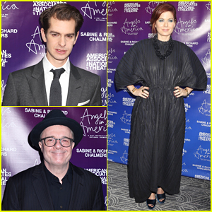 Andrew Garfield & Nathan Lane Host 'Angels in America' National Theatre's Gala!