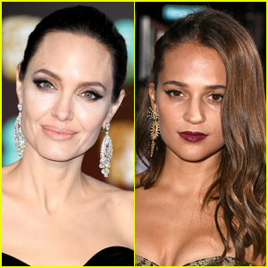 Angelina Jolie Didn't Take Her Kids to See Alicia Vikander's 'Tomb Raider'