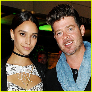 Robin Thicke & April Love Geary Share First Look at Baby Mia