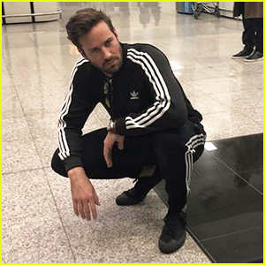 Armie Hammer Announces He's Retiring His Tracksuits