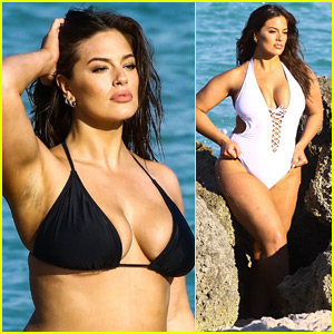 Ashley Graham Shows Off Her Curves During Bikini Photo Shoot!