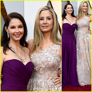 Ashley Judd & Mira Sorvino Stand United at Oscars 2018