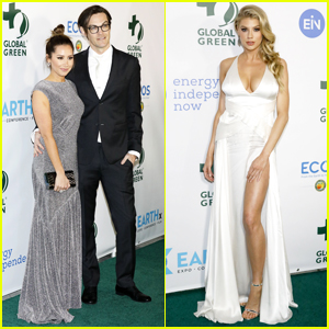 Ashley Tisdale, Charlotte McKinney & More Step Out for Global Green Pre-Oscar Gala 2018!