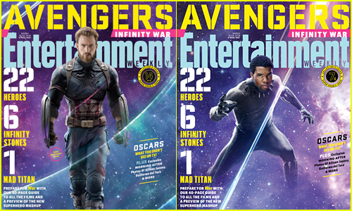 'Avengers: Infinity War' Characters Get Their Own 'EW' Covers!