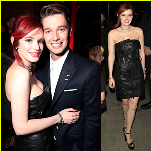 Bella Thorne Slips Into Black Dress for 'Midnight Sun' Party