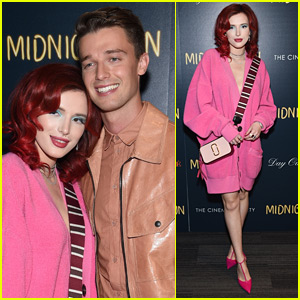 Bella Thorne Cozies Up to Co-Star Patrick Schwarzenegger at 'Midnight Sun' Screening in NYC