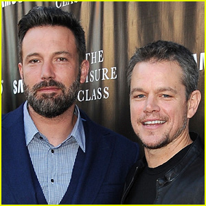 Matt Damon Reveals His Thoughts About BFF Ben Affleck's Massive Back Tattoo