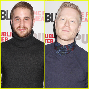 Ben Platt & Anthony Rapp Step Out To Support 'The Low Road' Opening Night!