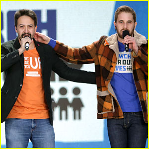 Lin-Manuel Miranda & Ben Platt Perform 'Found / Tonight' at March For Our Lives (Video)