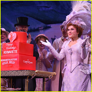 Bernadette Peters Celebrates 70th Birthday On Stage at 'Hello, Dolly!'
