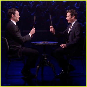 Bill Hader & Jimmy Fallon Can't Stop Laughing During 'Tonight Show' Face It Challenge!